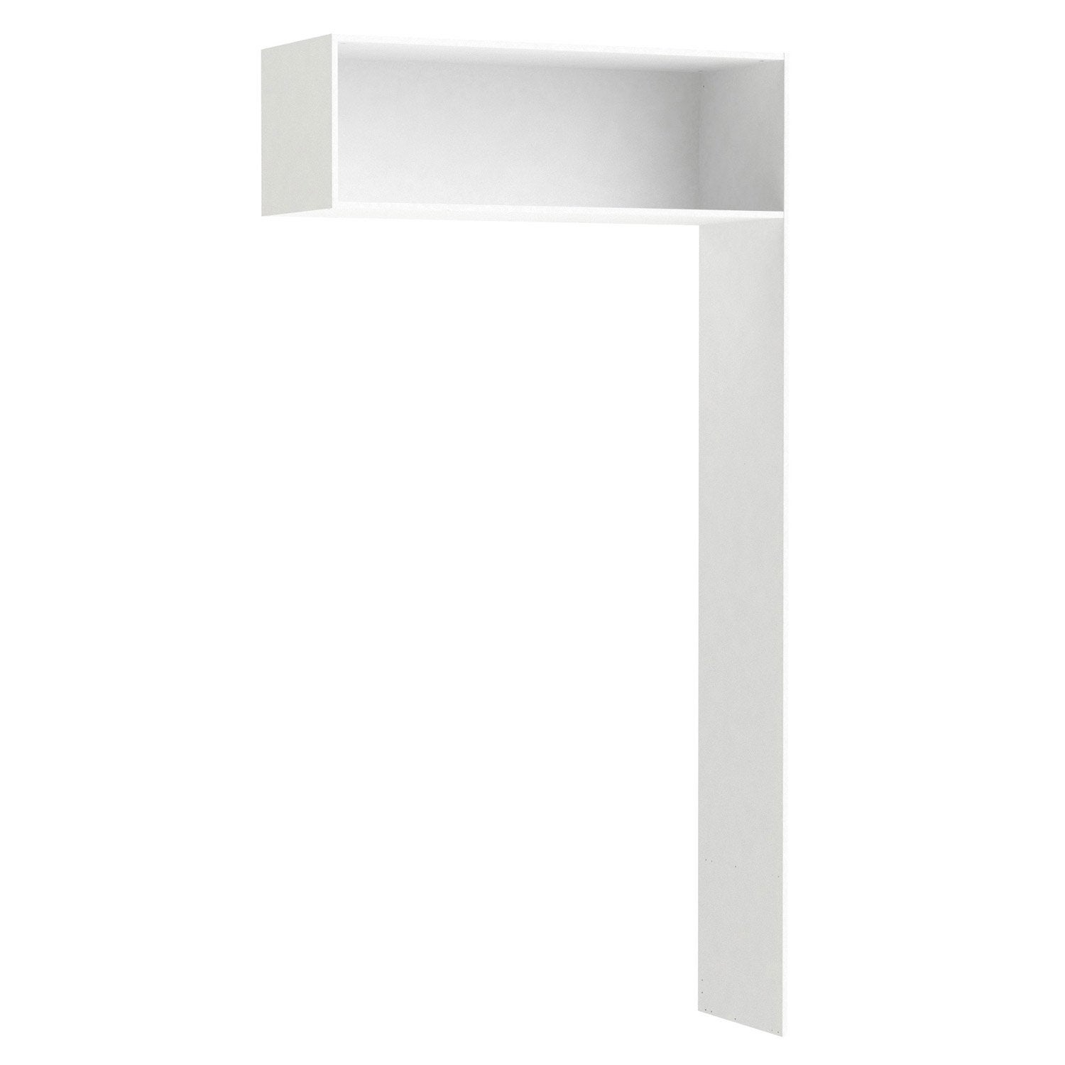 Penderie extensible SPACEO Home 240 x 120 x 45 cm, blanc | Leroy Merlin