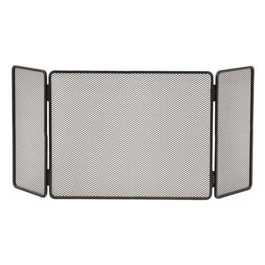 pare feu 3 volets lemarquier basique grand acier leroy. Black Bedroom Furniture Sets. Home Design Ideas
