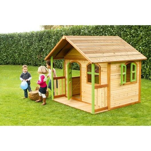 maisonnette chalet maison cabane enfant au meilleur. Black Bedroom Furniture Sets. Home Design Ideas