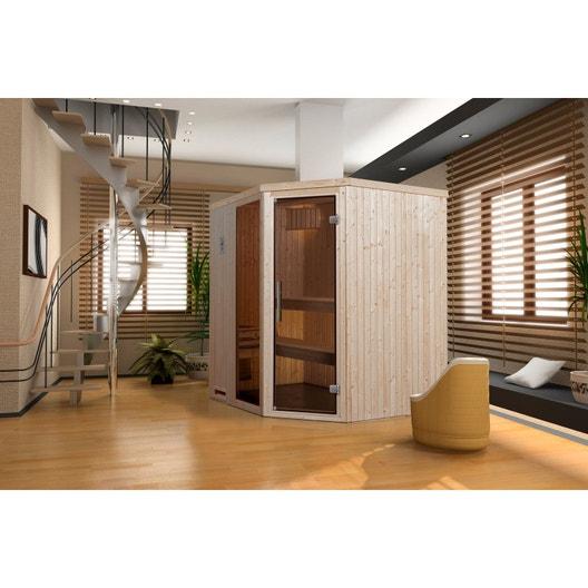 tout savoir sur le sauna | leroy merlin