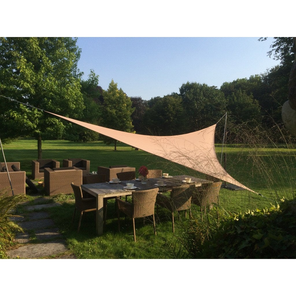 Voile Du0027ombrage Triangulaire Taupe L.300 X L.300 Cm, EASY