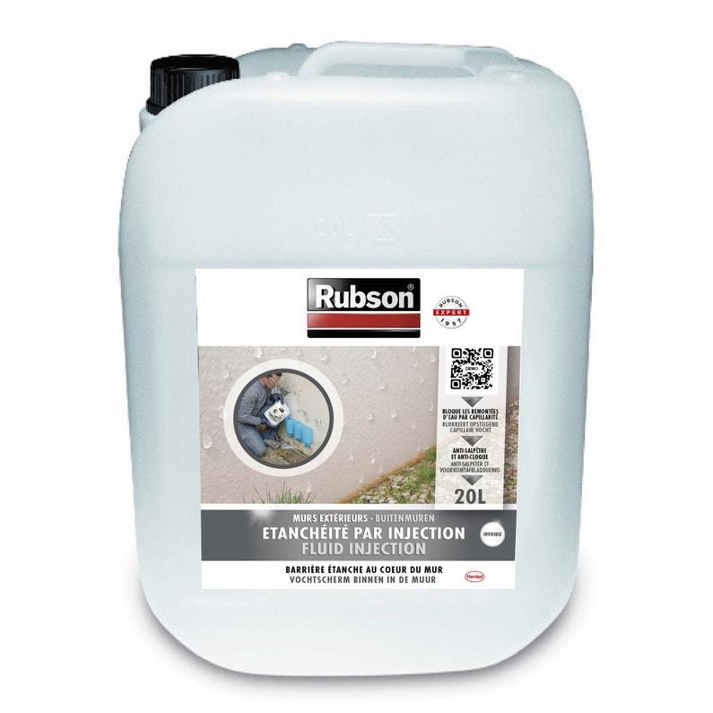 Peinture étanche Stop Infiltration Injection Rubson Blanc 20 L