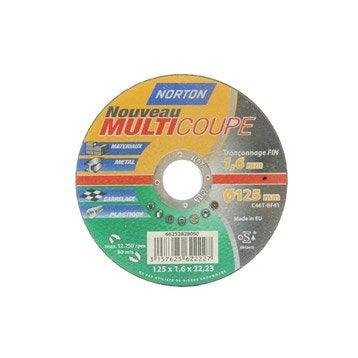 Lot de 4 disques multicoupe NORTON