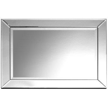 Miroir design industriel miroir mural sur pied leroy for Miroir mural rectangulaire sans cadre