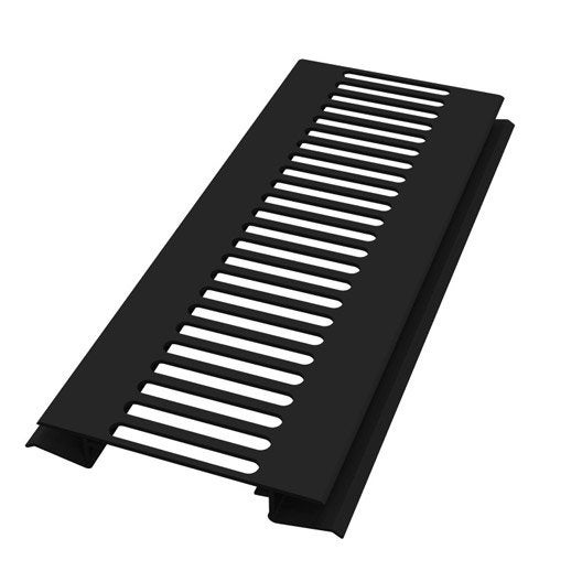grille de ventilation pvc freefoam noir 3 m leroy merlin. Black Bedroom Furniture Sets. Home Design Ideas