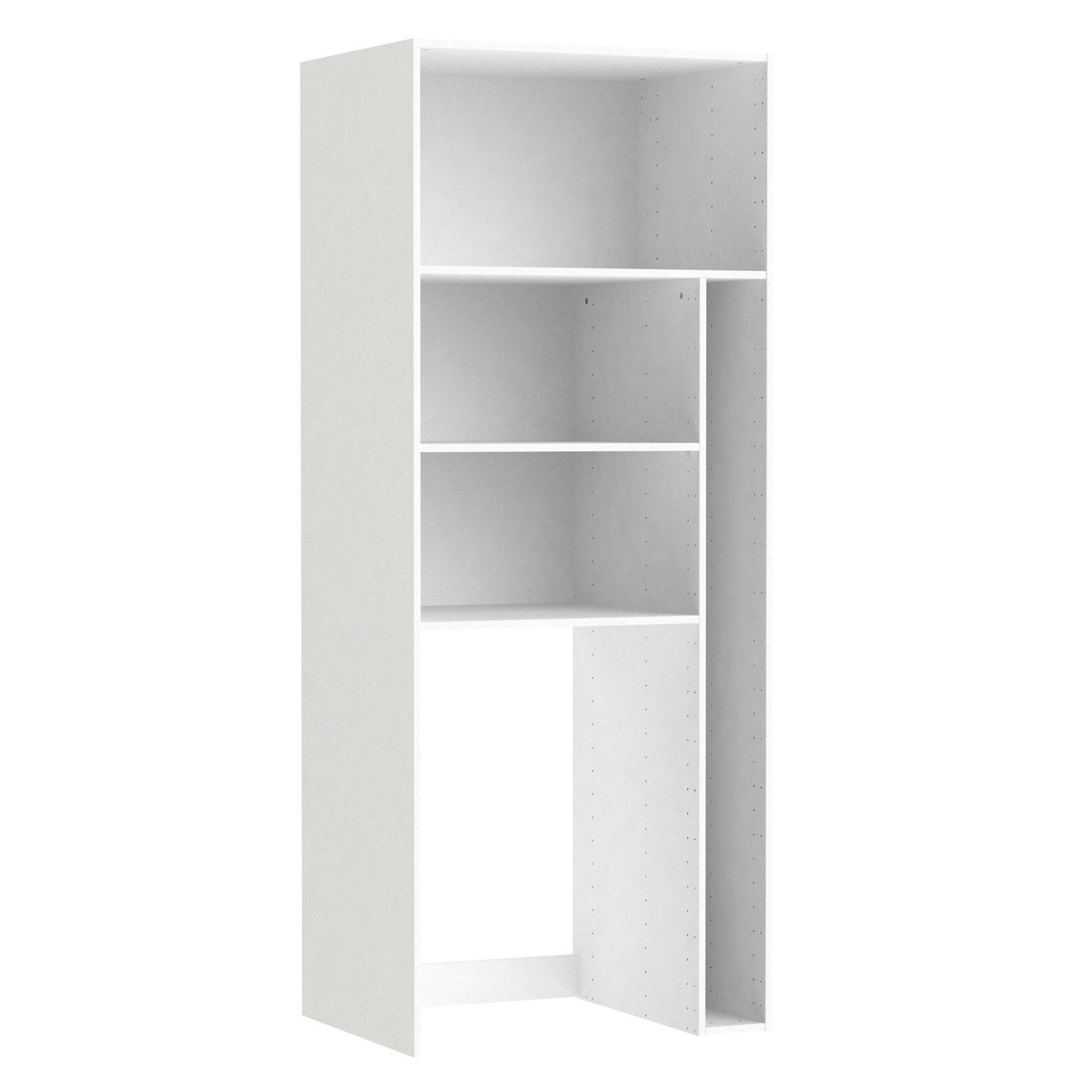 Caisson Buanderie SPACEO Home 200 X 80 X 60 Cm, Blanc