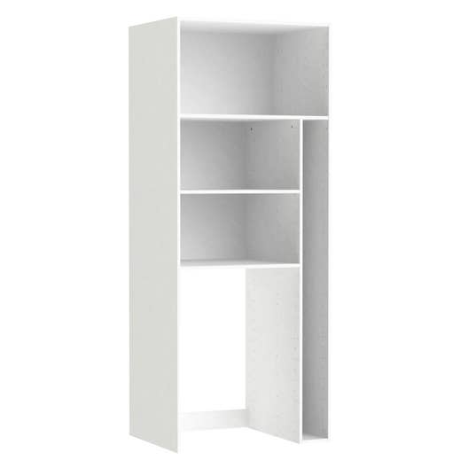 caisson buanderie spaceo home 200 x 80 x 60 cm blanc. Black Bedroom Furniture Sets. Home Design Ideas