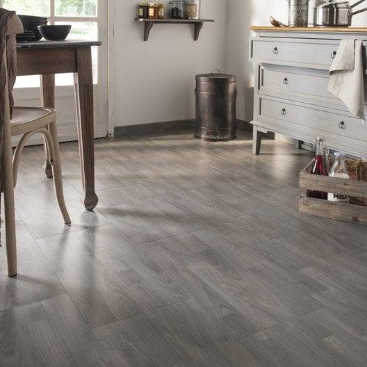 carrelage sol et mur gris effet bois otta x cm leroy merlin. Black Bedroom Furniture Sets. Home Design Ideas