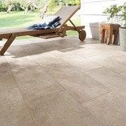 Carrelage sol sable effet pierre Palerme l.30.8 x L.61.5 cm