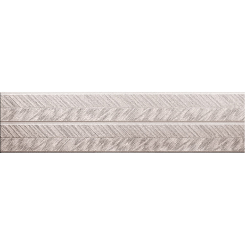 Carrelage mur greige, Decor harlem chevron l.30 x L.120 cm