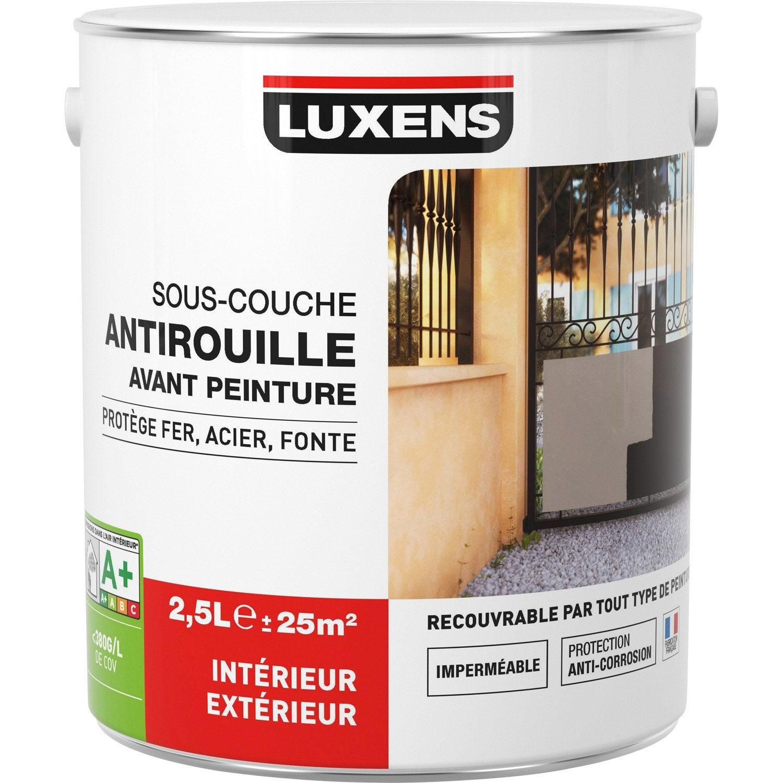 Sous Couche Fer / Antirouille LUXENS 2.5 L