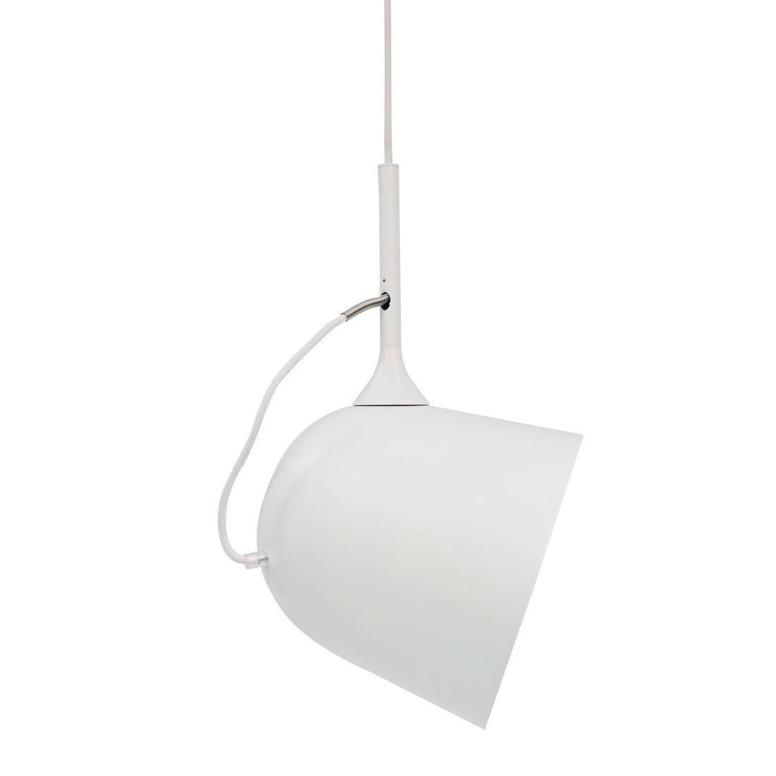 Suspension, E27 design Magnétic orientable métal blanc 1 x 15W W LO EDITIONS