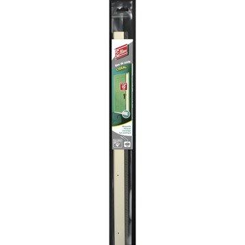 Bas de porte à visser brosse ELLEN,  L.100 cm blanc