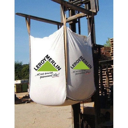 M lange sable 0 4 gravillon 4 20 en big bag 1 m3 leroy - Prix big bag sable ...
