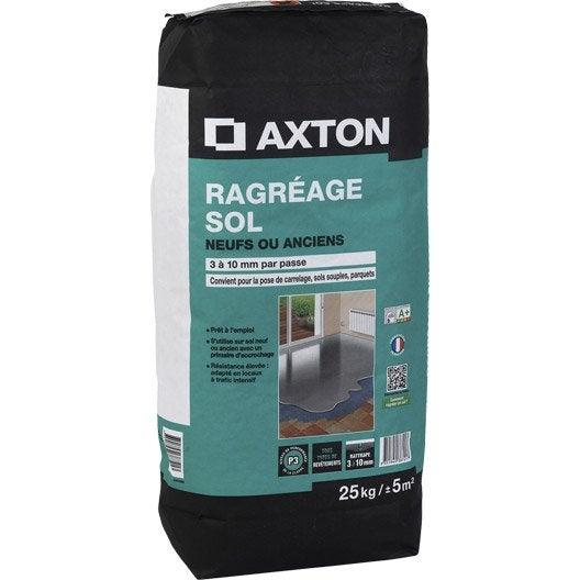 Ragr age sol neuf ou ancien axton 25 kg leroy merlin - Temps sechage ragreage ...