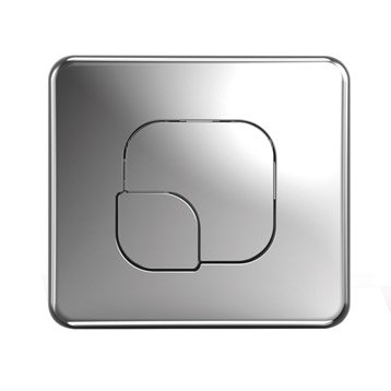 Plaque de commande pour WC suspendu Remix