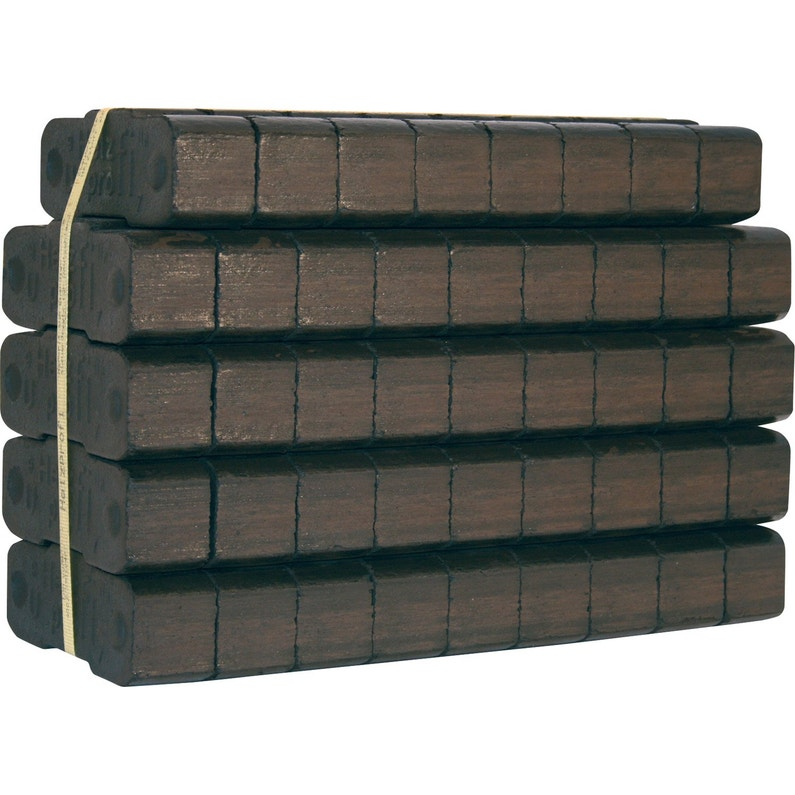 Briquette De Lignite L18 Cm Sac 25 Kg