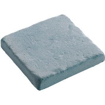 Pavé béton Touraine, gris anthracite L.12 cm x l.12 cm x Ep.20 mm