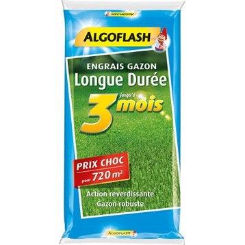 Engrais longue durée ALGOFLASH 18 KGS, 720 m²