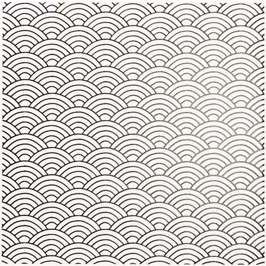 Décor Astuce okino white n°0, l.20 x L.20 cm