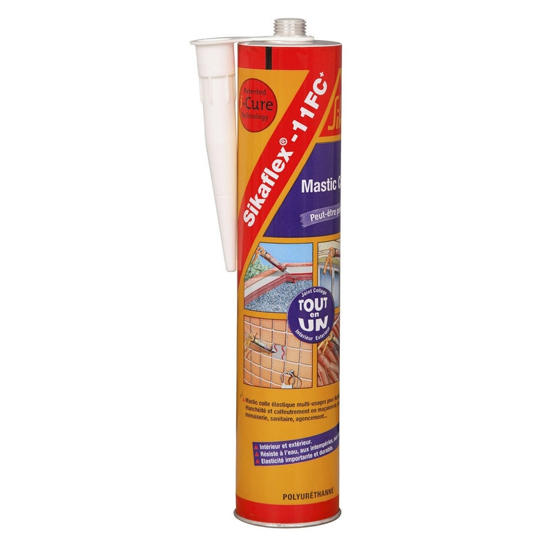 Mastic Colle Sika Sikaflex 11fc 300 Ml Gris