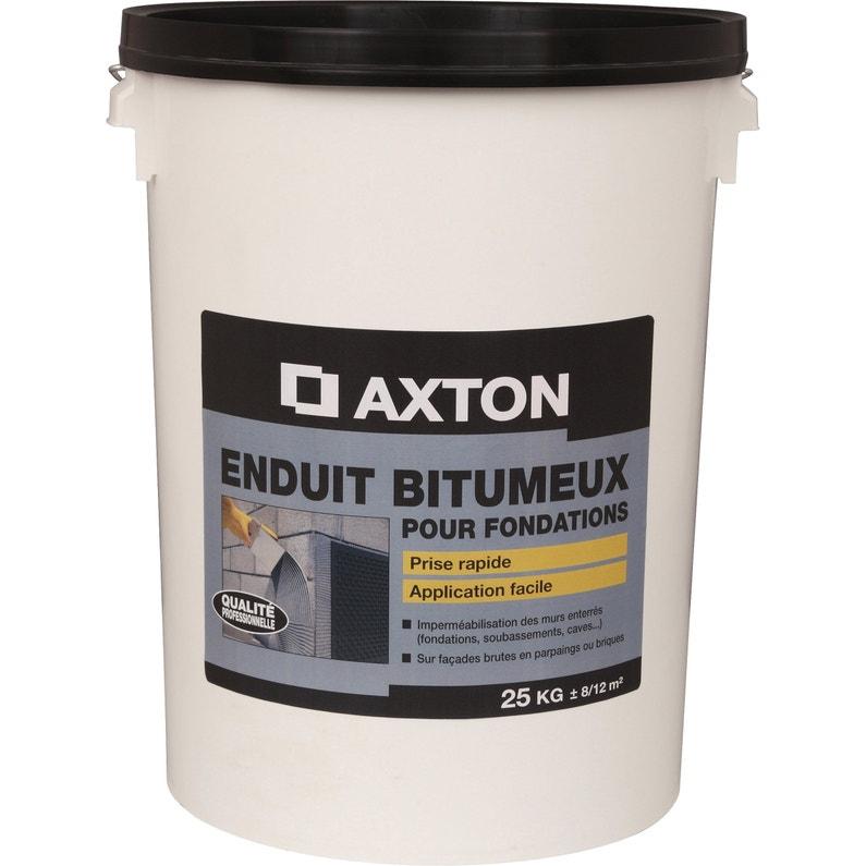 Enduit De Fondation Axton 25 Kg Noir