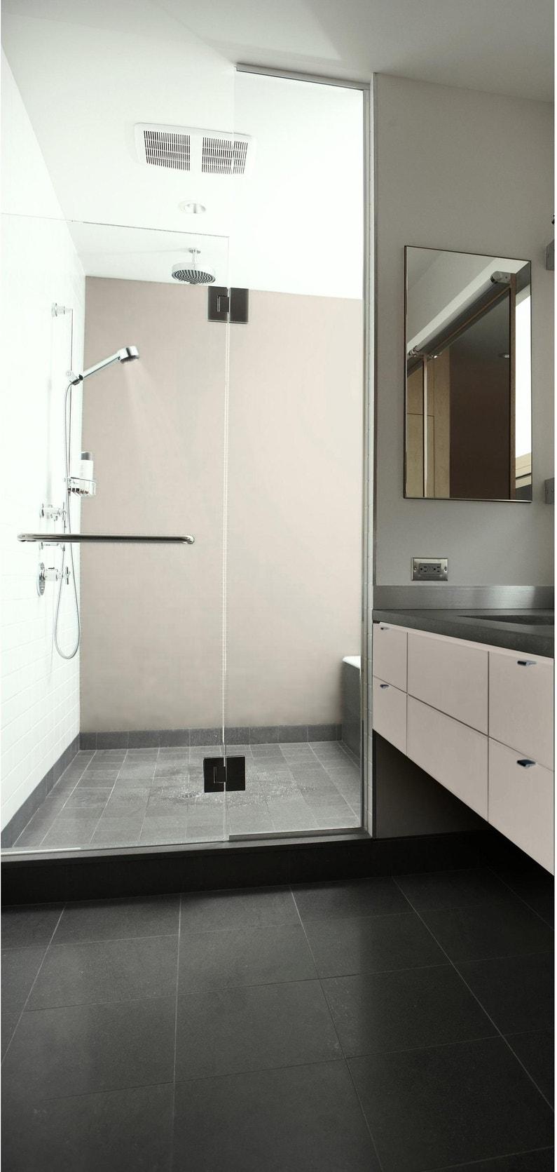 Enduit Carrelage Salle De Bain peinture salle de bains carrelage et meuble rénov' syntilor, craie satiné,  2 l
