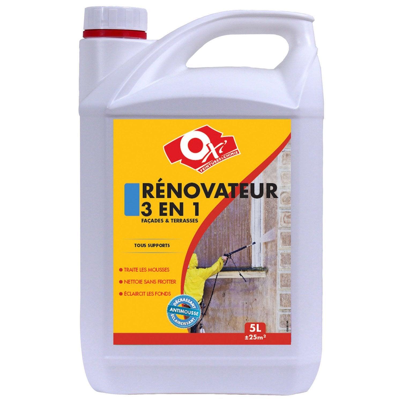 Décrassant Et Rénovateur Façade 3 En 1 OXYTOL, 5 L