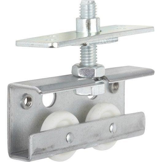 Kit de montage acier et plastique pour portes coulissantes - Kit habillage porte coulissante ...