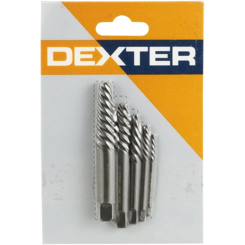 Lot De 4 Extracteurs De Vis Cassées Dexter