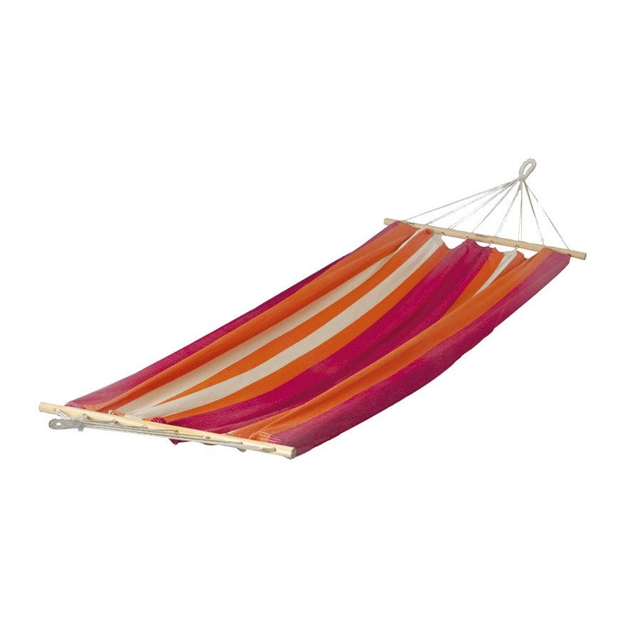 toile de hamac siena jobek ray orange leroy merlin. Black Bedroom Furniture Sets. Home Design Ideas
