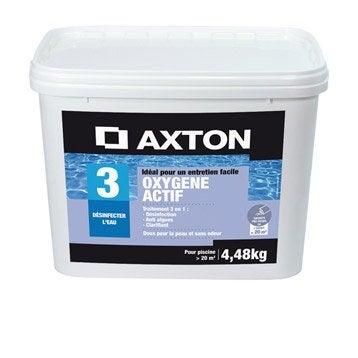 Kit d'entretien piscine AXTON, granulé 4.48 kg