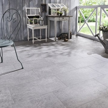 Carrelage ext rieur carrelage pour terrasse leroy merlin for Carrelage 50x50 gris