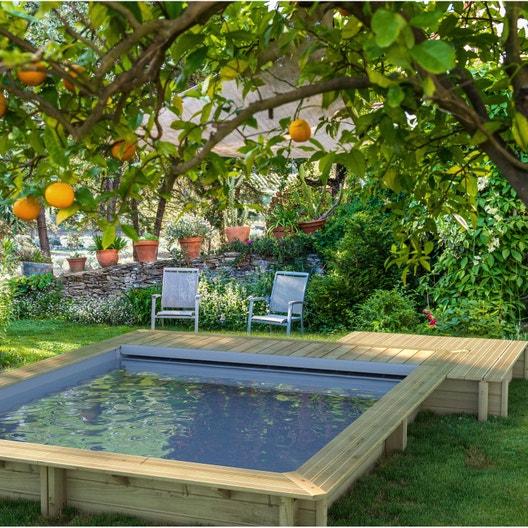 piscine bois urbaine leroy merlin