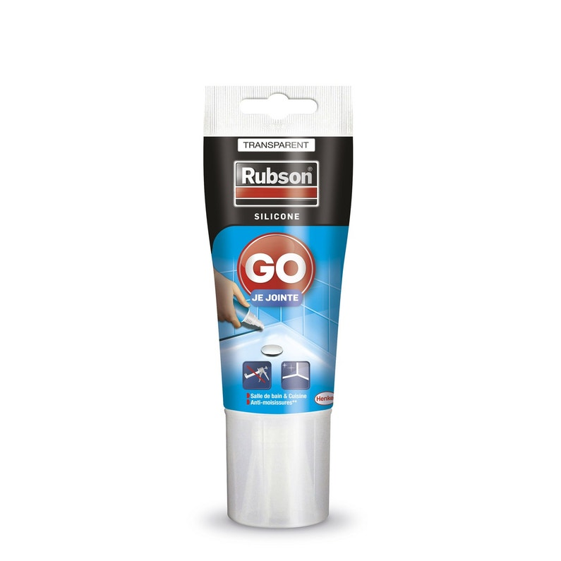 Silicone Rubson Transparent 50 Ml