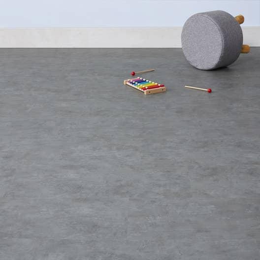 dalle pvc clipsable concrete light flash leroy merlin. Black Bedroom Furniture Sets. Home Design Ideas