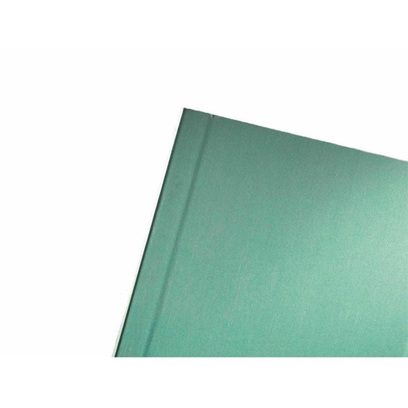 Plaque De Plâtre Ba 13 H250 X L60 Cm Hydrofuge Phonique Ce Knauf