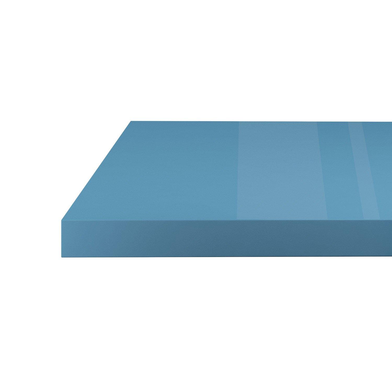 Plan de travail stratifié brillant Fjord 3 L.300 x P.65 cm, Ep.38 mm