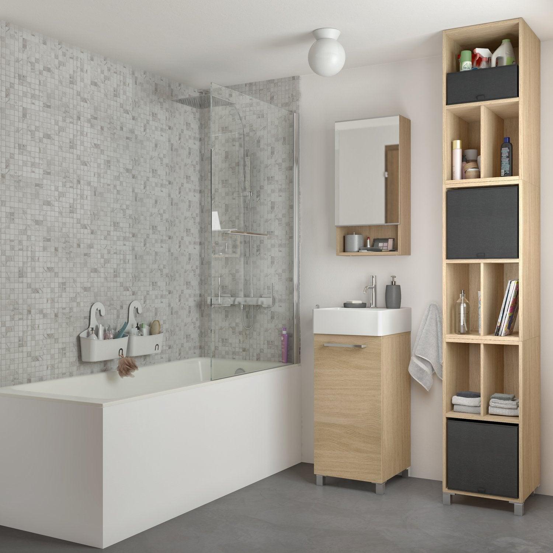 Miroir Salle De Bain Lumineux Sur Mesure ~ la nouvelle collection de salles de bains 2018 leroy merlin