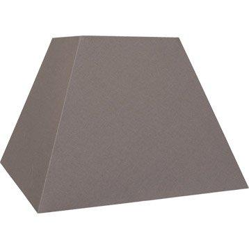 Abat-jour Loft, 42 cm, toiline, brun taupe n°3 INSPIRE