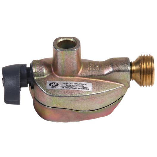 Le Gaz Butane dedans robinet adaptateur gaz butane / propane pour elfi et twinny x diam