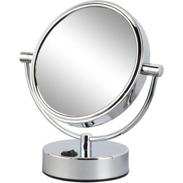 Miroir Grossissant Lumineux X10 miroir grossissant - miroir de salle de bains au meilleur prix