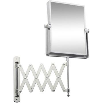 Miroir grossissant miroir de salle de bains au meilleur prix leroy merlin for Glace rectangulaire