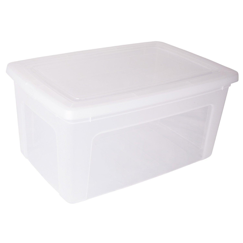 Boîte Modular Clear Box Plastique , L.39.5 X P.59.5 X H.