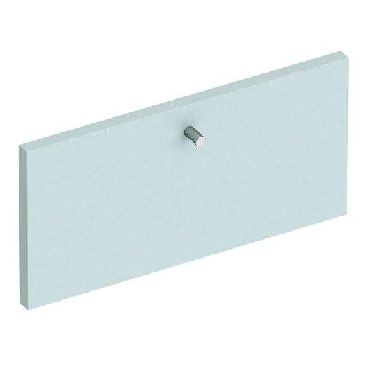 fa ade de tiroir spaceo home 20 x 40 x 1 6 cm bleu. Black Bedroom Furniture Sets. Home Design Ideas