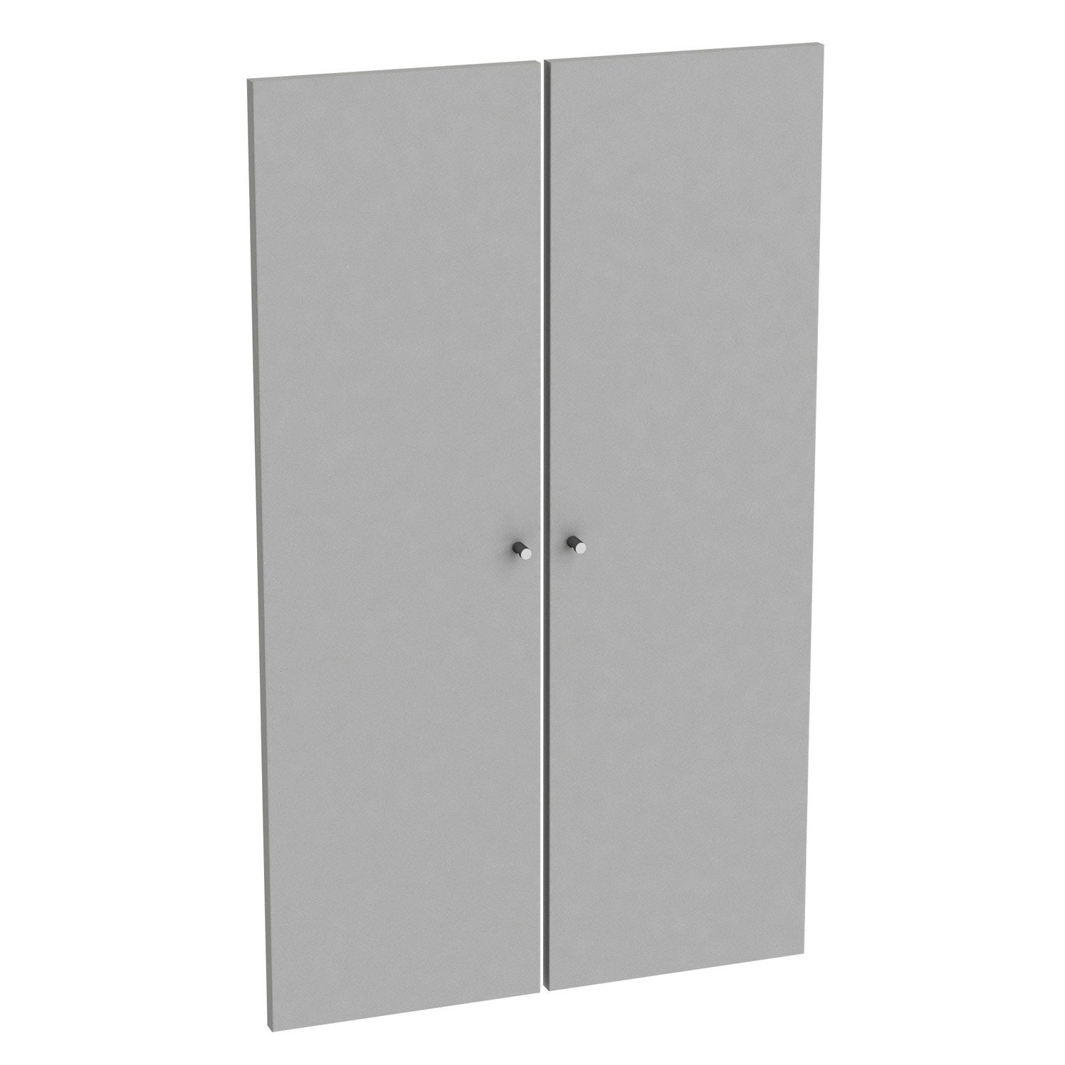 Incroyable Lot De 2 Portes Battantes SPACEO Home 100 X 30 X 1.6 Cm, Anthracite