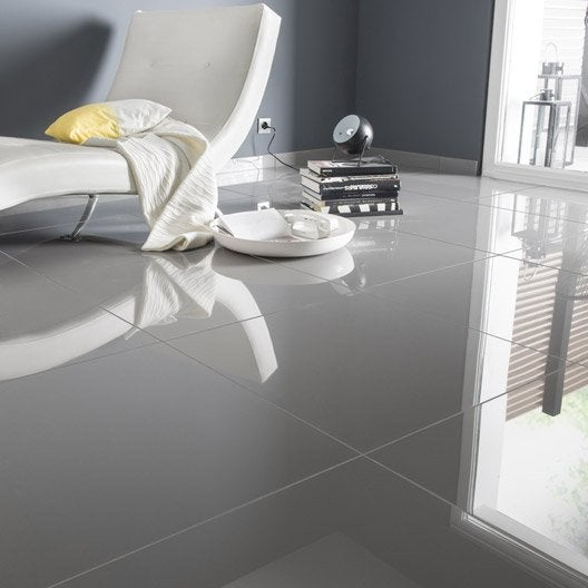 lot de 2 plinthes crystal gris l 7 x cm leroy merlin. Black Bedroom Furniture Sets. Home Design Ideas