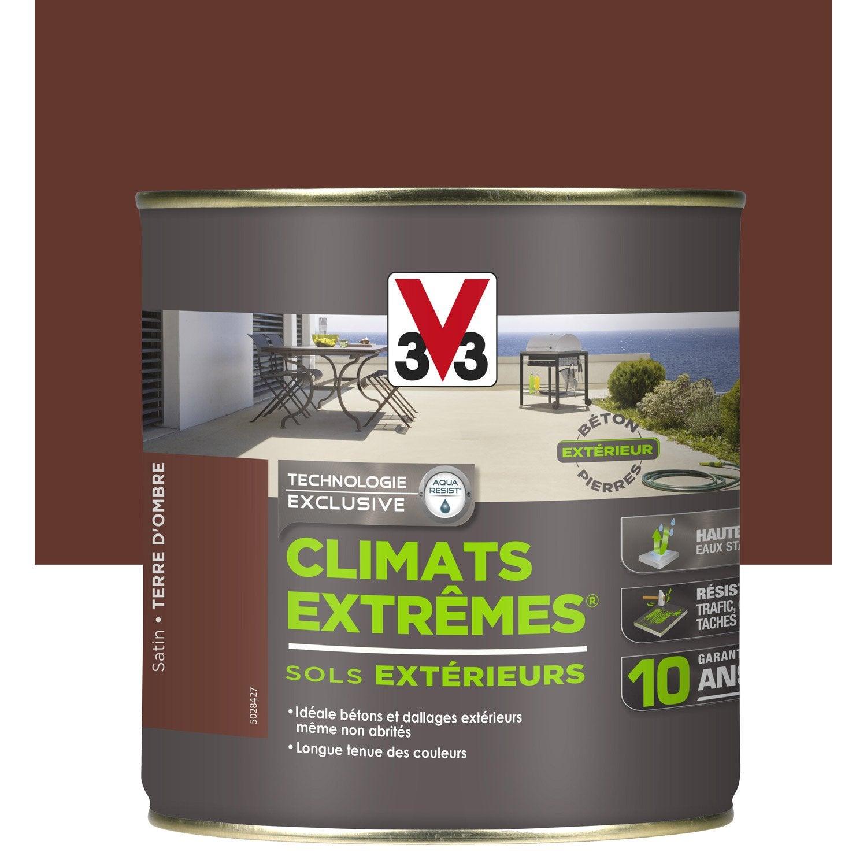 Peinture Sol Ext Rieur Climats Extr Mes V33 Marron Terre D Ombre