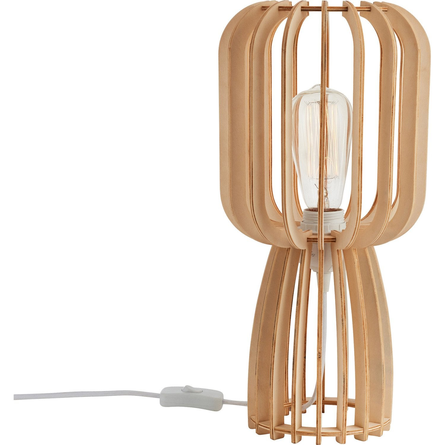 Lampe, e27 Goteborg LUSSIOL naturel, 40 W