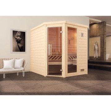 Sauna Traditionnel Sauna Au Meilleur Prix Leroy Merlin